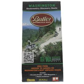 Butler Motorcycle Maps - Washington Backcountry Discovery Route (WABDR) Product Thumbnail