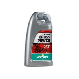 Closeout! Motorex Cross Power 2T, 2-Stroke Motorcycle Oil (1 Liter) (Was $22) Product Thumbnail