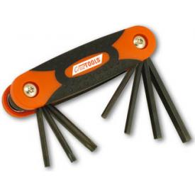 Cruz Tools Folding (inch) Hex and Torx Key Set  Product Thumbnail