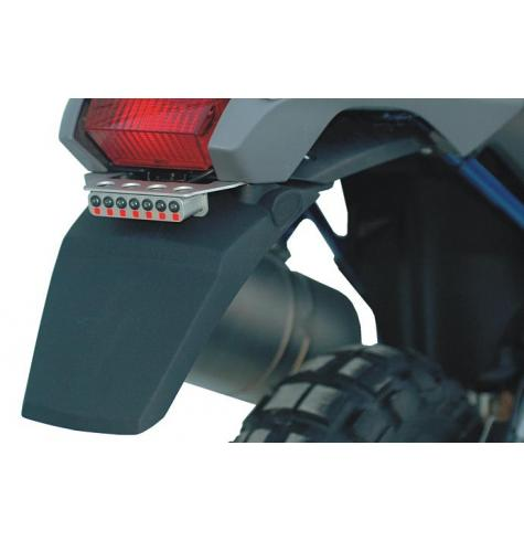Photo shows item 030-0034 LED rear lamp mounted with light bracket 044-2010.  These items are NOT included with 044-2080.