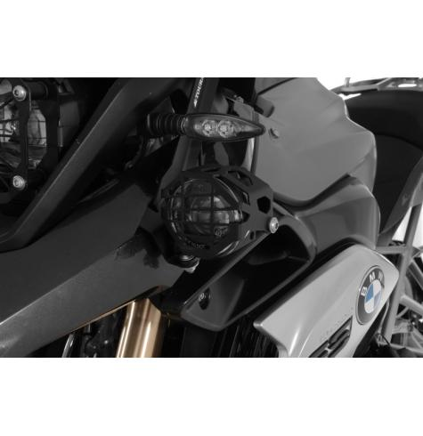 All light pictures shown with optional light guards (040-546X) installed.  These are not included in the delivery and are sold separately.  The Touratech LED FOG/HIGH combo is not compatible with the BMW OEM LED Headlight.
