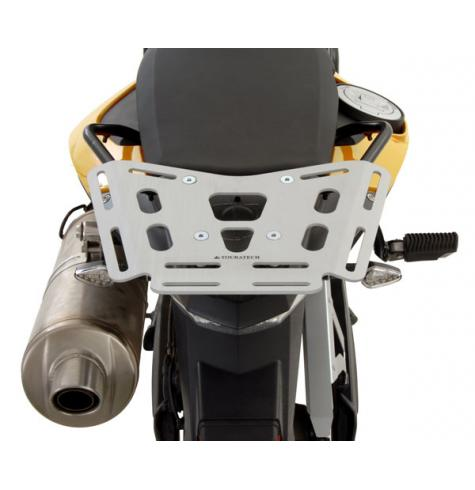 The ultimate lightweight aluminum luggage rack for your BMW F800GS, F700GS, or F650GS twin.