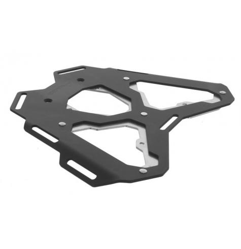 The ultimate lightweight aluminum and stainless steel luggage rack for your BMW F800GS / ADV, F700GS, or F650GS twin.