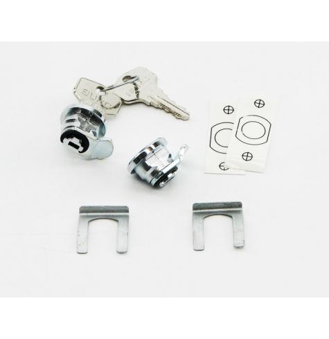 055-0044 is a matched pair of locks for one pannier case.