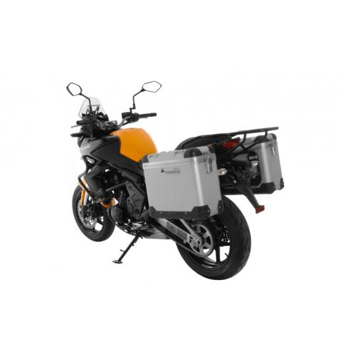 The Touratech Zega Pro Pannier System is the best luggage option on the market for your Kawasaki Versys 650.