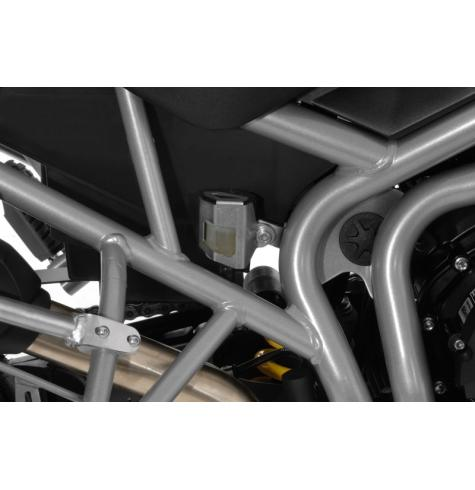 rear brake fluid reservoir guard triumph tiger  xc