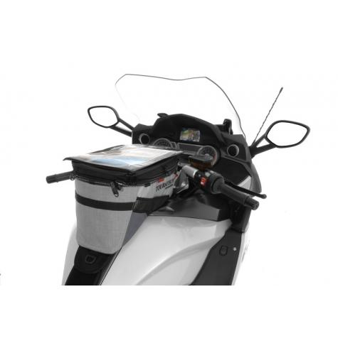 Touratech Streetline offers the best-looking and most functional touring tank bag for the BMW K1600GT