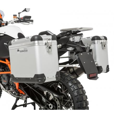 Touratech offers the ultimate luggage solution with the Zega Pro Pannier system for the KTM 1190 Adventure and Adventure R.