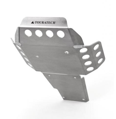 The Touratech R1200GS Skid Plate offers smart protection for the engine of your BMW R1200GS.
