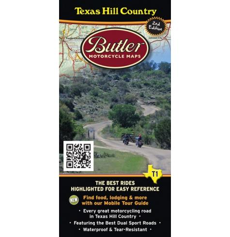 Butler Motorcycle Maps Texas Hill Country