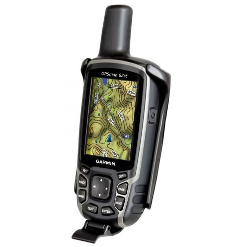 Garmin 62 series GPS pictured not included with cradle